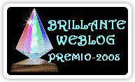 Brillante Weblog premio 2008