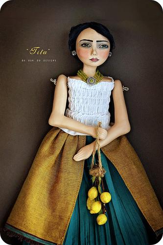 Art Dolls by Du Buh Du Designs: Tita
