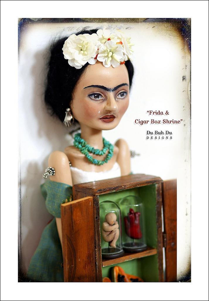 Frida_Art_Doll_and_Cigar_Box_Shrine_2