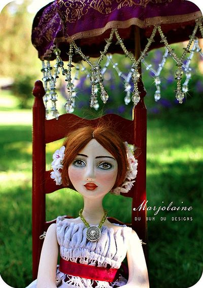 Art Doll Marjolaine