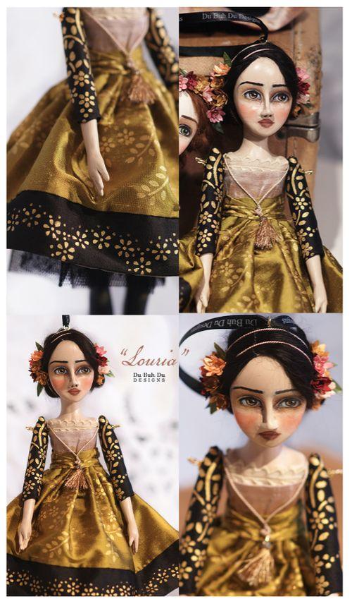 Art Doll Ornament Louria