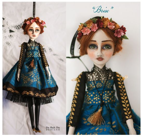Art Doll Ornament Brise