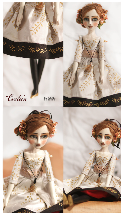 Art Doll Ornament Evelein b