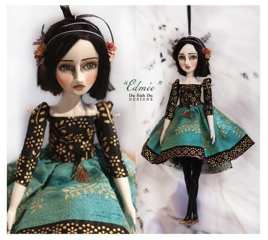 Art Doll Ornament Edmee 1