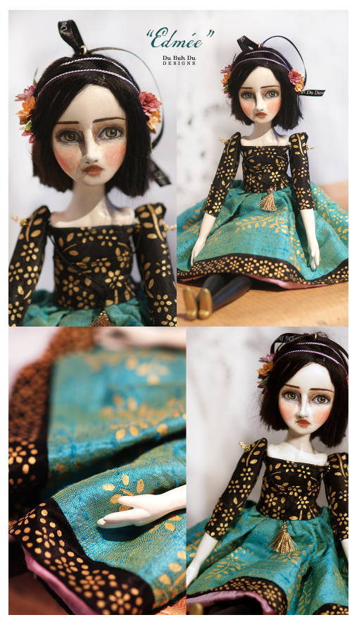 Art Doll Ornament Edmee 2