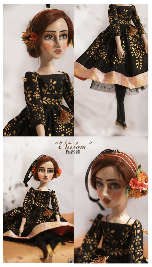 Art Doll Ornament Neelam