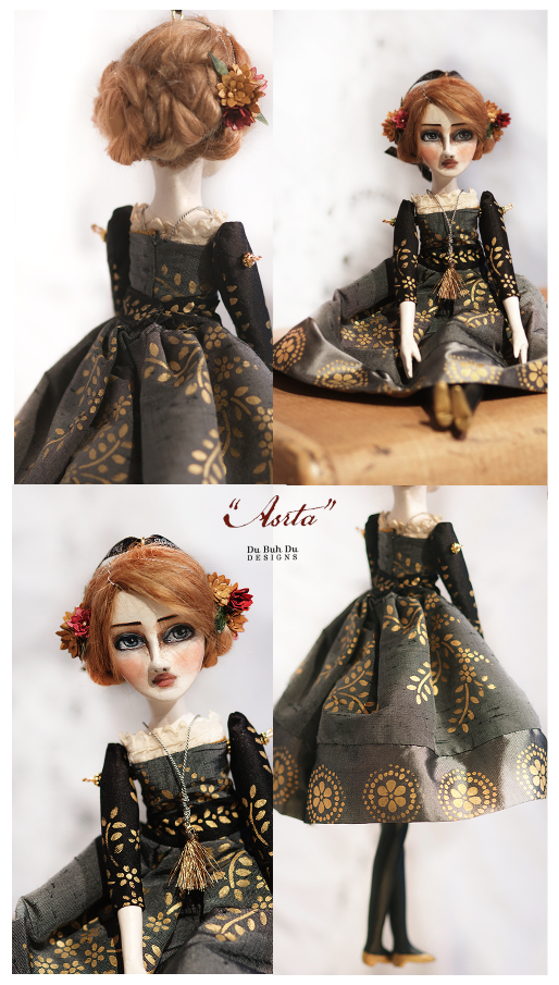 Art Doll Ornament Astra 1
