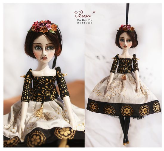 Art Doll Ornament Rasa