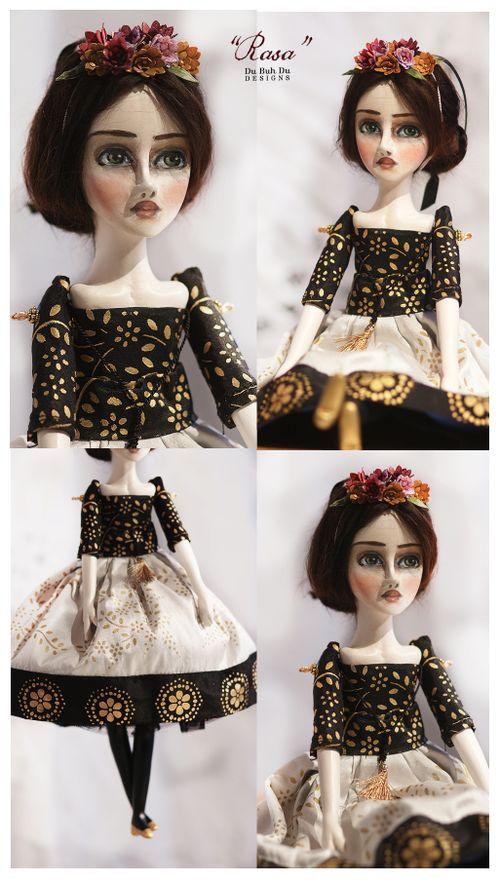 Art Doll Ornament Rasa 1