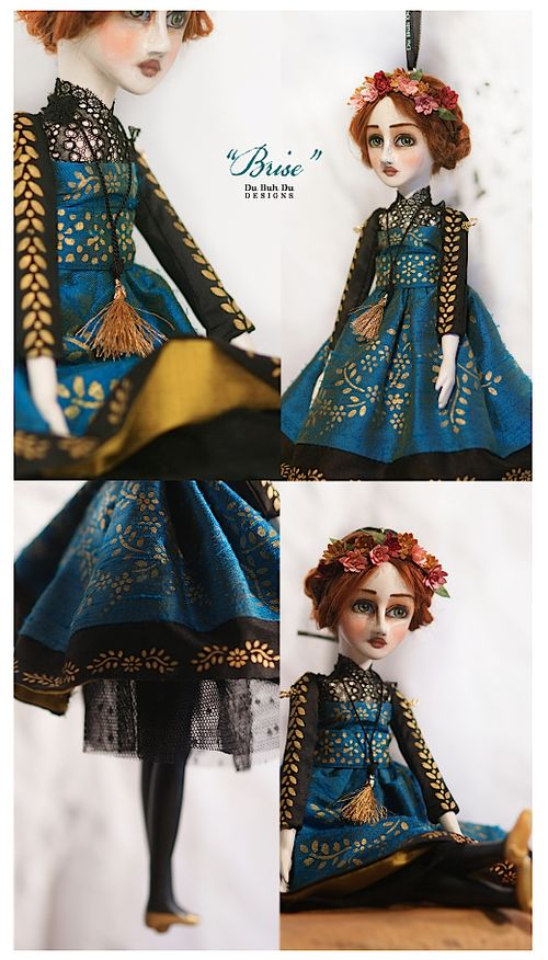 Art Doll Ornament Brise 1