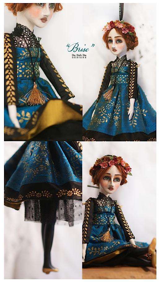 Art Doll Ornament Brise 1