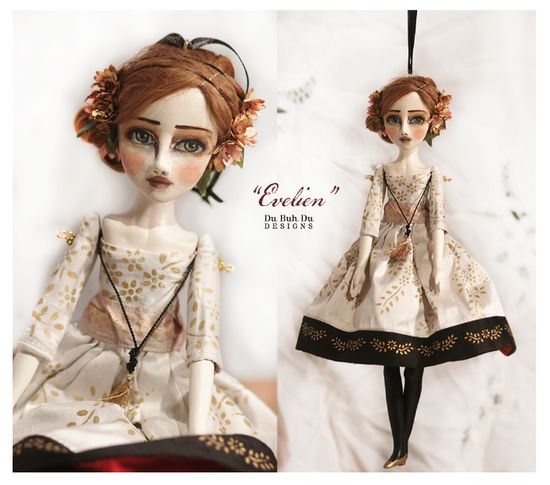 Art Doll Ornament Evelein