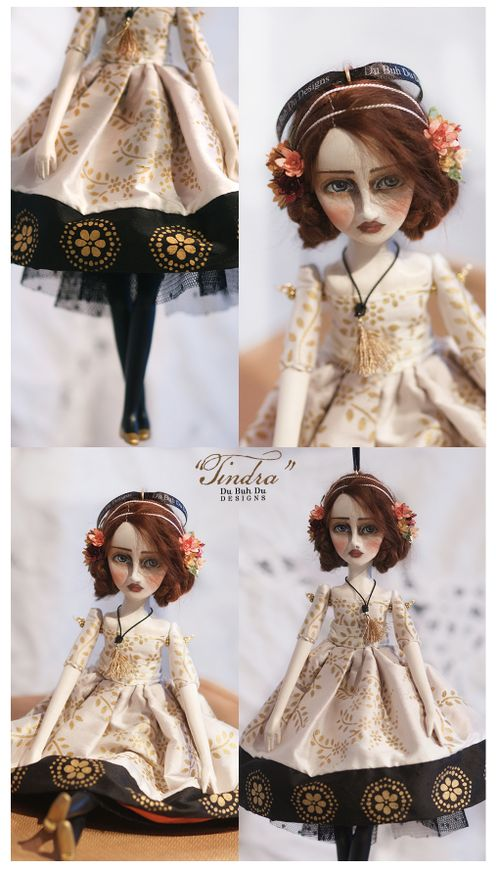 Art Doll Ornament oindra