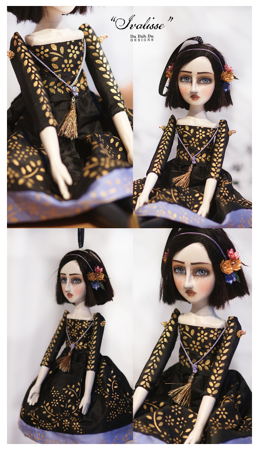 Art Doll Ornament  Ivalisse