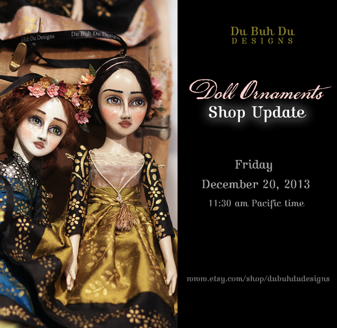 Shop Update Doll Ornaments