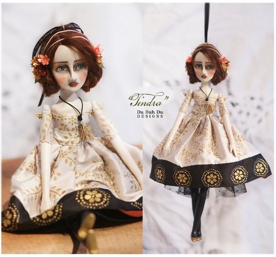 Tindra doll ornament
