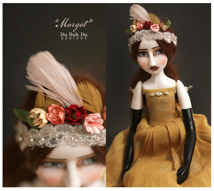Margot feathers & flowers