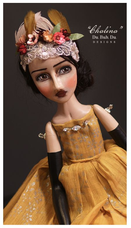 Chalina doll by Christine Alvarado