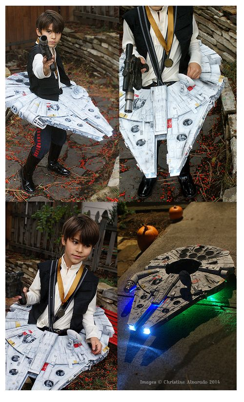 Star Wars Han Solo & Millennium Falcon Kids Costume