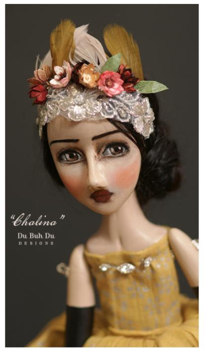 Chalina doll by Du Buh Du Designs