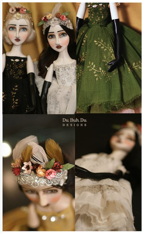 Art Dolls by Christine Alvarado