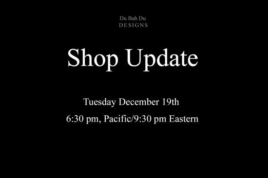 Shop update
