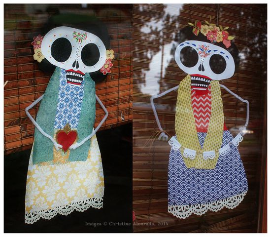 Dia de los Muertos Decor by Christine Alvarado