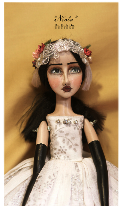 Neola doll by Du Buh Du Designs
