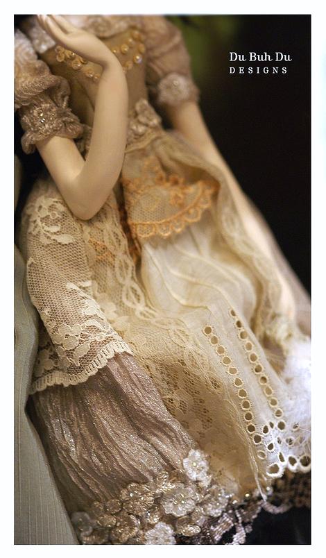 Dress details by Du Buh Du Designs 2011