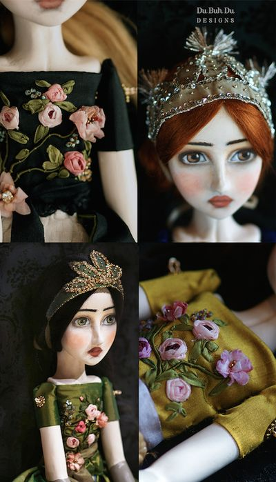 Art Dolls by Christine Alvarado - Du Buh Du Designs