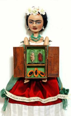 Art Doll by Christine Alvarado 2010